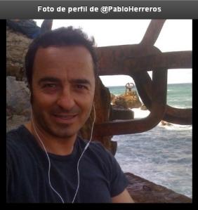 Imagen del perfil en Twitter de Pablo Herreros